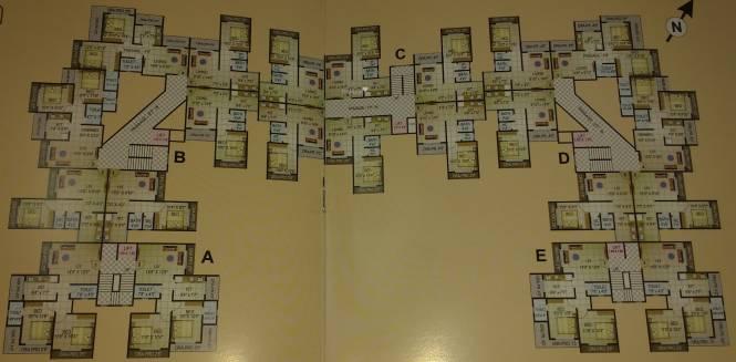 Kartik Residency Cluster Plan