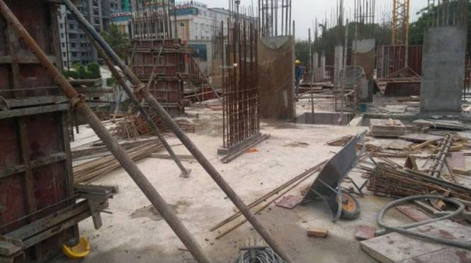 Jain Grand West Construction Status