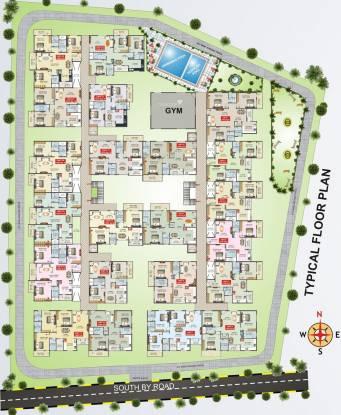 Nandana Gardenia Cluster Plan