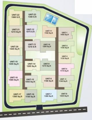 Nandana Gardenia Site Plan