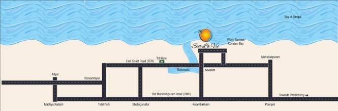 My Sea La Vie Location Plan