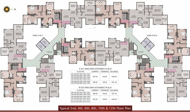 Shree Anand Royal Court Cluster Plan