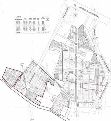 Parsvnath City Site Plan