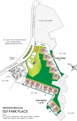 DLF Park Place Layout Plan