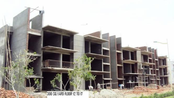 Omaxe Green Meadow Floors Construction Status