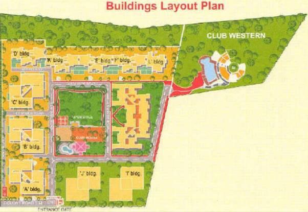 The Westend Village Layout Plan