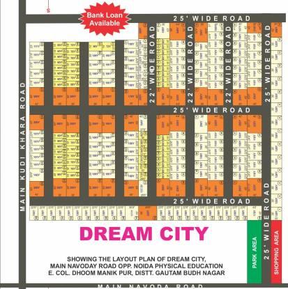 Ajor Dream City Layout Plan