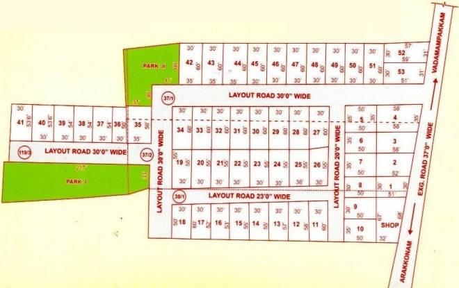 GKP Win Nagar Layout Plan