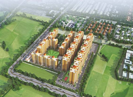 CHD Karnal Homes Elevation