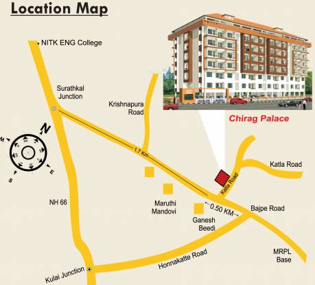 Chirag Palace Location Plan
