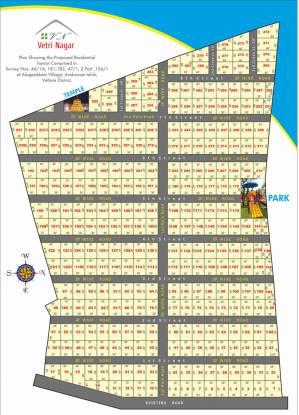 Ishwaryam Vetri Nagar Layout Plan