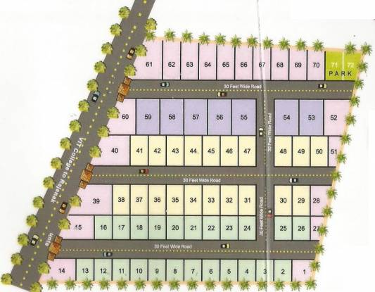 CMM Golden Heights Layout Plan