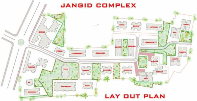 Jangid Yamuna Tower Layout Plan