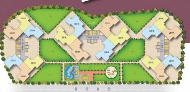 Mega Village Arivali Layout Plan
