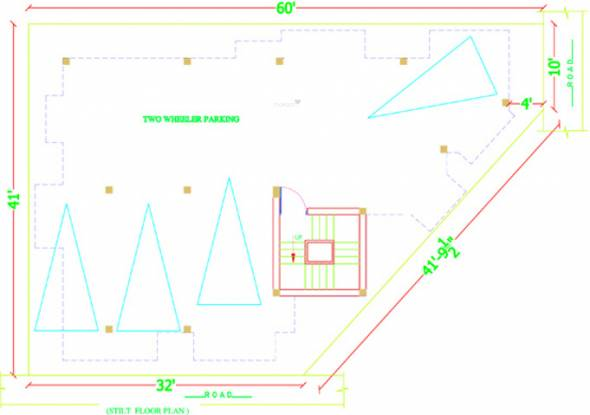 Amman Mithuna Apartment Cluster Plan