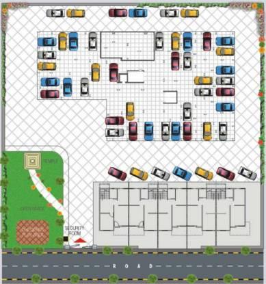 Barde Shiv Residency 3 Cluster Plan