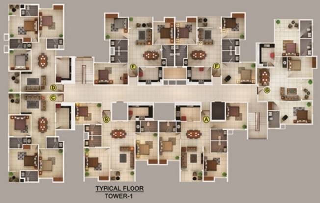 Yeskay Regalia Cluster Plan
