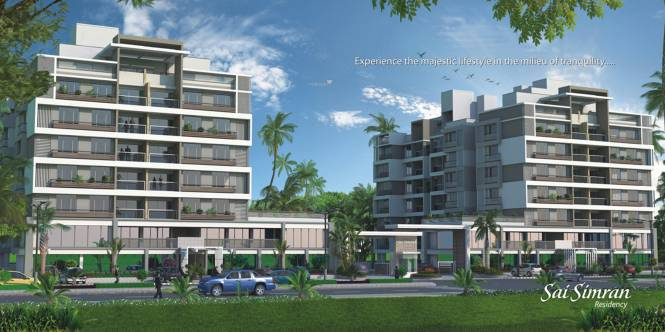 SS Sai Simran Residency Elevation