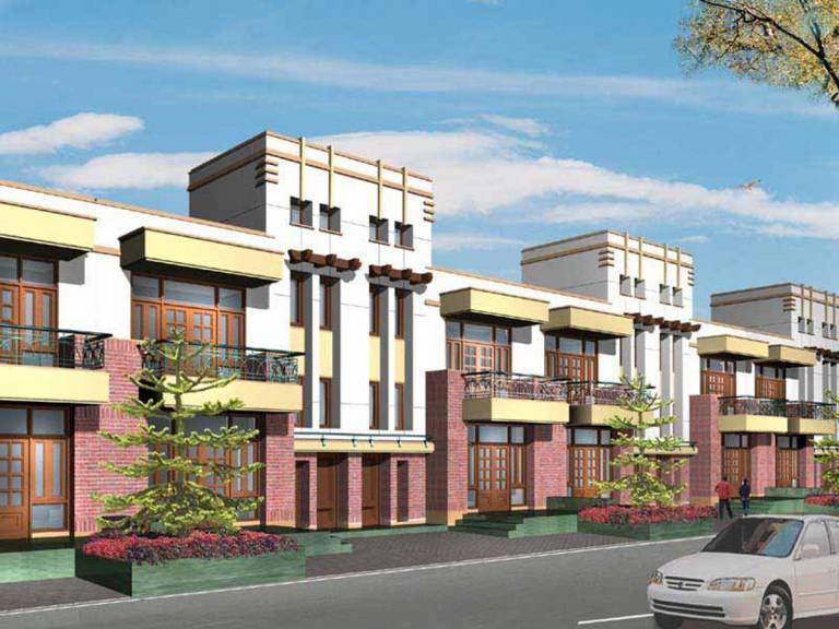 Swatantra Indraprastha Villas Elevation