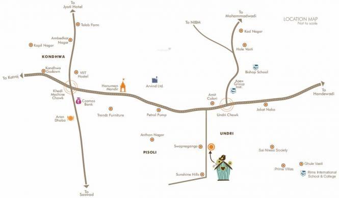 Sree Little Hearts Location Plan