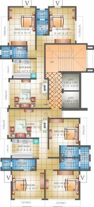 Heritage Krishna Heritage Cluster Plan