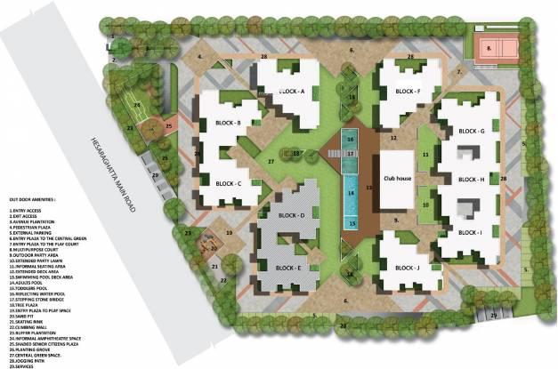 Salarpuria Sattva Laurel Heights Master Plan