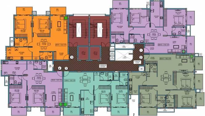 Abish Promenade Cluster Plan