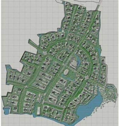 Sarthav Abhishree Ecostead Site Plan