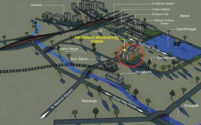 Kores Garden Enclave Location Plan