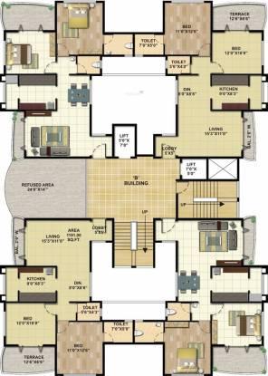 Karmaa Residency Cluster Plan