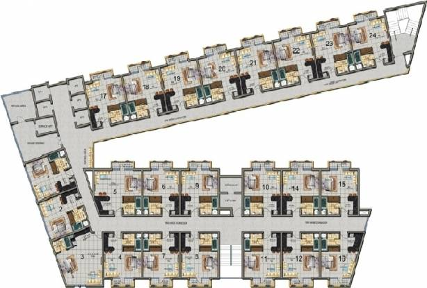 Nirala Arcade And Suites Master Plan