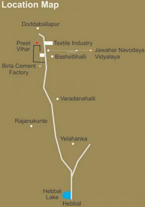 Highlife Preet Vihar Location Plan