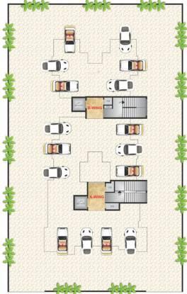 Vasani Paradise Cluster Plan