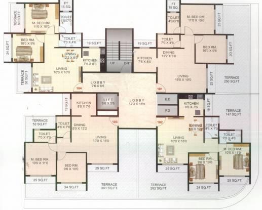HG Royal Residency Cluster Plan