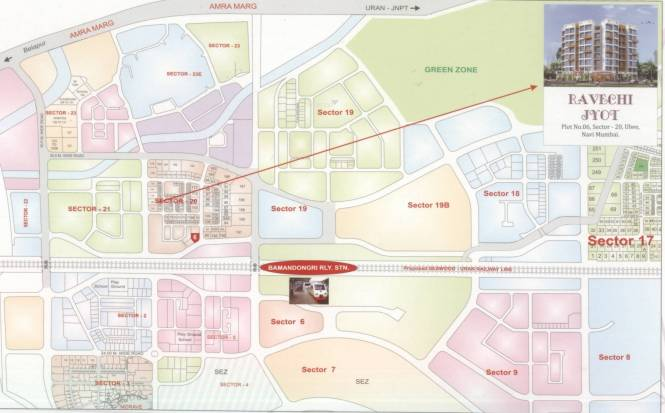 Gayatri Ravechi Jyot Location Plan