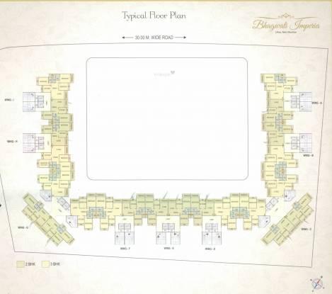 Bhagwati Imperia Cluster Plan