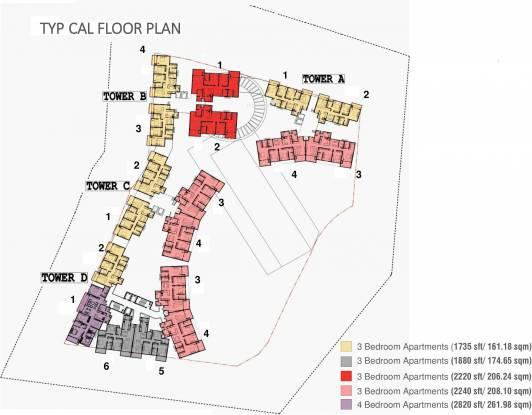 Vaswani Exquisite Cluster Plan