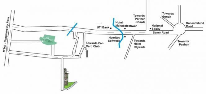 Paranjape Athashri Location Plan