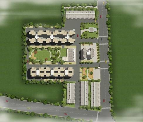 Shree Gajanan Park Layout Plan