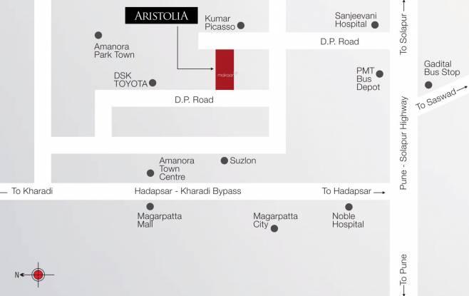 Fortune Aristolia Location Plan