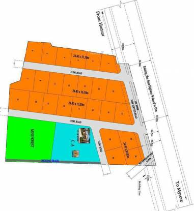 YEStates Antillia Teak Garden Site Plan