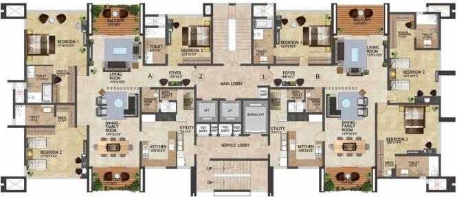 Prestige Kenilworth Cluster Plan