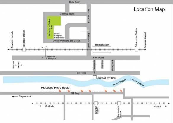 Keventer Westwind Location Plan