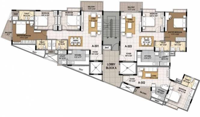 Sumadhura Essenza Cluster Plan