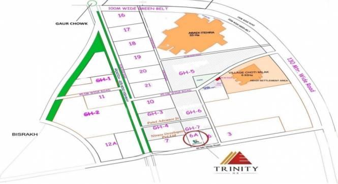 Urbainia Trinity Location Plan
