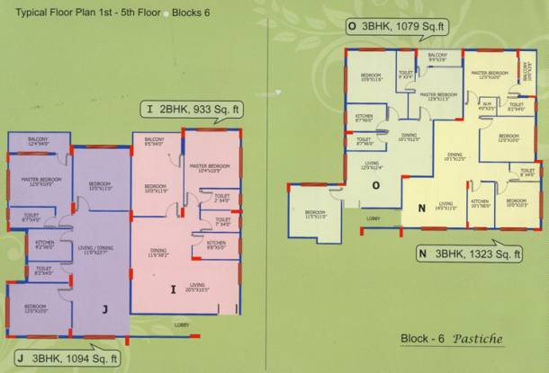 SG Residenzza Cluster Plan