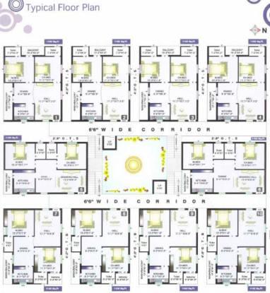 Sreemitra Heights Cluster Plan
