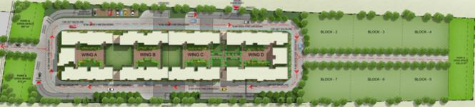 Mahaveer Sitara Layout Plan
