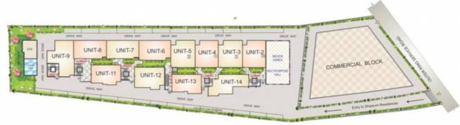 Saakara Dhaaruni Residences Cluster Plan