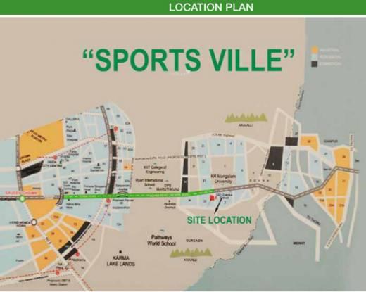 HCBS Sports Ville Location Plan